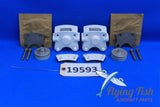 Cleveland Brake Caliper Pair P/N: 30-56A Cessna 182 Mooney M20 (19593)