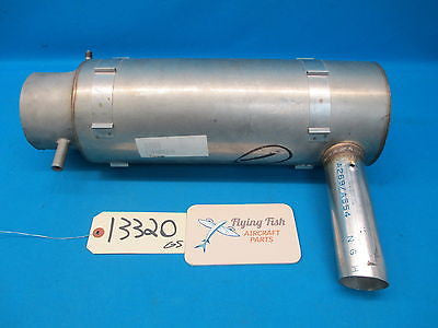 Aircraft Combustion Exhaust Pipe Assembly (13320)