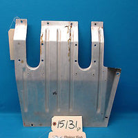 Beechcraft 1964 Baron 95-B55 LH Side Pilot Metal Floor Panel 96-420010-1 (15131)