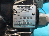 Woodward Aircraft Propeller Governor Core 210556 Beechcraft 60-389000-3 (15667)