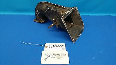 Vintage Cessna L-19 Bird Dog War Bird Air Box Intake Assembly (12888)