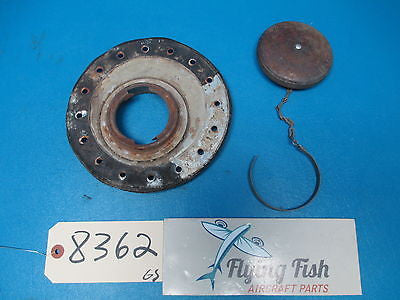 Aircraft Fuel Oil Cap and Mounting Assembly (8362)