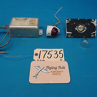 Cessna 310 D Left Tip Tank Beacon Lights & Whelen Strobe Power Supply (17535)