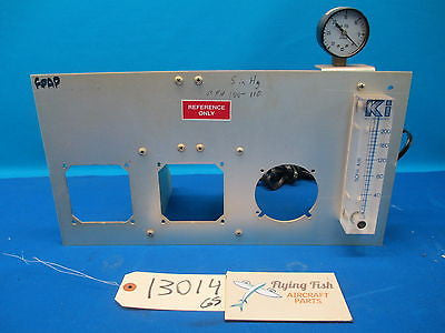 "Aviation 17"" x 9"" Instrument Test Panel Plate w/ Pressure Indicators (13014)"