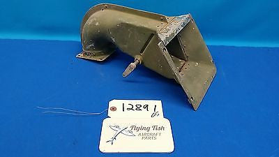 Vintage Cessna L-19 Bird Dog War Bird Air Box Intake Assembly 0650111 (12891)