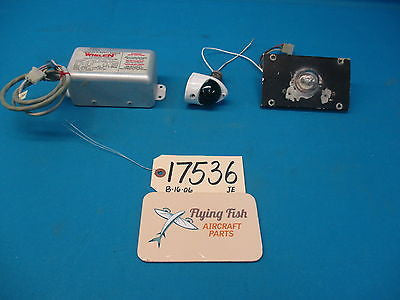 Cessna 310 D Right Tip Tank Beacon Lights & Whelen Strobe Power Supply (17536)
