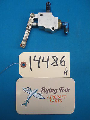 Aircraft Parking Brake Switch Valve Assembly  (14486)