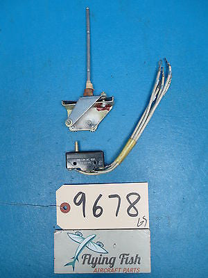 Aircraft Micro Switch Assembly PN: BZ-3YST3 GUARANTEED WORKING (9678)