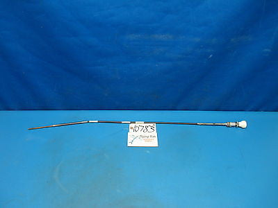 "Aircraft Control Cable White Knob 39"" Cessna Piper Beechcraft Homebuilt (10783)"