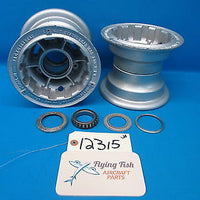 Pair of Firestone 6.00-6 Aircraft Wheels DFA-180 DFA180 (12315)