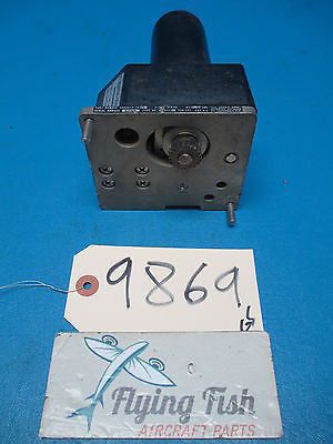 Bendix 28V Pitch Servo PN: 4000979-7303 (9869)
