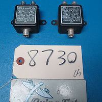 Two ( 2 ) Cessna Aircraft VOR Antenna Couplers PN: S-2212-1 (8730)