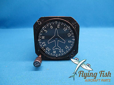 Aviation Safety Instrument Directional Gyro 200-5A2 , 505-0017-904 (17997)