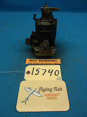 Woodward Aircraft Propeller Prop Control Governor Core PN: 210443A (15740)