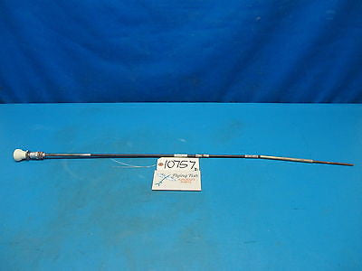 "Aircraft Control Cable 39"" White Knob Cessna Piper Beechcraft Homebuilt (10757)"