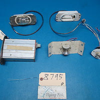 Assortment of Aircraft Strobe Light Beacon and Power Supply Assemblies (8795)