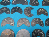 Aircraft Indicator Faces Temperature Free Air Temp General Electric Lot (15855)