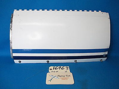 Cessna 310 D Aircraft LH Forward Engine Cowling Assembly P/N 0895000-2 (16963)