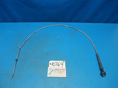 "Aircraft Throttle Control Cable 61-1/8"" Cessna Piper Beechcraft Homebuilt(10769)"