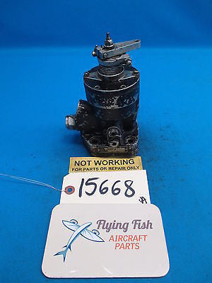 Woodward Aircraft Propeller Governor Core for Parts Type: 210290E (15668)