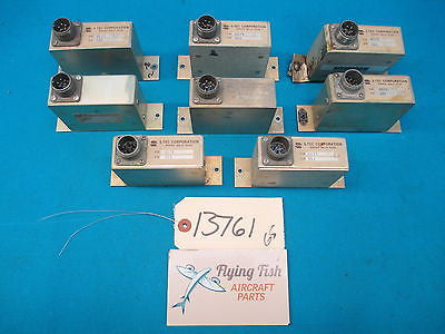 Lot of 8 S-Tec AutoPilot Electronic Components PN: 0175 (13761)