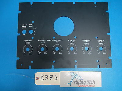 Aircraft Control Instrument Panel PN: 27-749213-7 (8333)