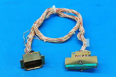Wilcox 1014 ATC Transponder Test Set Adapter Connector Harness Cable (17716)