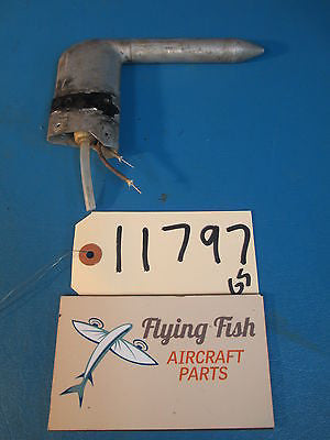 Cessna 337 L Shape Heated Pitot Static Tube GUARANTEED WORKING (11797)
