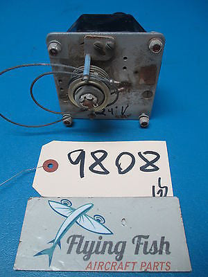 Aircraft Roll Pitch Servo 24V GUARANTEED WORKING (9808)
