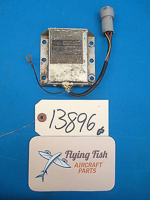 Cessna Electrodelta Voltage Regulator Unit PN: C611005-0101 (13896)