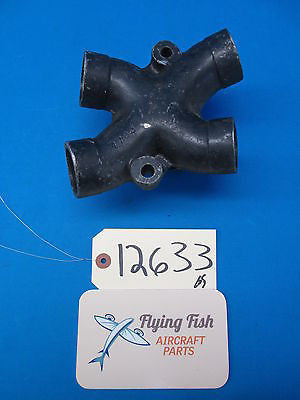 Aircraft Engine Intake Spider 4 Way Adapter Connection (12633)