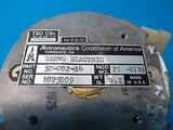 Astronautics Corp Electric Servo P/N: 52-002-14 Model: P1-S(B) 14 VDC (12045)
