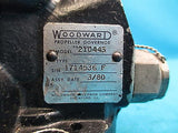 Woodward Aircraft Propeller Governor Core for Parts Model: 210443 (15584)