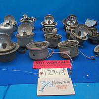 Lot of Various Grimes and Other Rotating Light Beacon and Parts (12949)