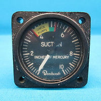 Beechcraft Baron Suction Gauge 50-384042-3 Standard Products SP3571-BEC2 (14886)