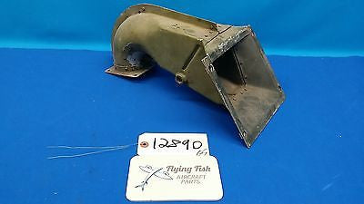 Vintage Cessna L-19 Bird Dog War Bird Air Box Intake Assembly (12890)