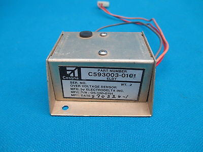 Cessna Electrodelta Over Voltage Sensor C593003-0101 OS-100-0101 (14985)