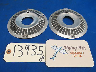 "Aircraft Wheel Hubcaps Wheel Covers Cessna Piper Beechcraft  6-1/8"" (13935)"