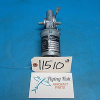 Beechcraft CAP Flap Motor P/N: D160-00-3 28VDC GUARANTEED (11510)