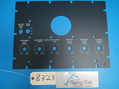 Aircraft Control Instrument Panel PN: 27-749213-7 (8323)
