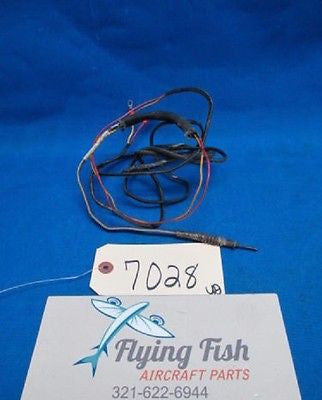 Alcor Cessna EGT Thermocouple Probe P/N: 86259, C668501-0204 *WORKING* (7028)