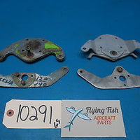Aircraft Lot of Rudder Horn Plate Assemblies Cessna Beechcraft Piper (10291)