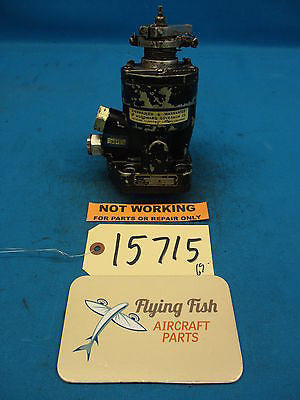 Woodward Aircraft Propeller Prop Control Governor Core PN: 210355 M (15715)