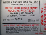 Whelen Strobe Light Power Supply Model A413, T2C-28 GUARANTEED 28V (16719)