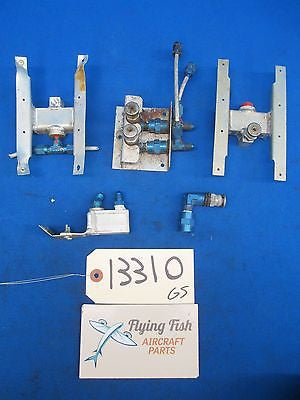 Various Cessna Piper Beechcraft Mooney & Other Valve Assemblies & Parts (13310)