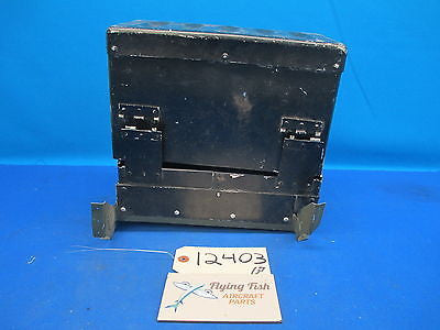 "Aircraft Metal Battery Container Box 11"" x 5-1/2"" x 9"" (12403)"