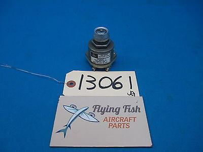 Cessna Ignition Switch P/N: C292501-0105 Gerdes Model: A-510 (13061)