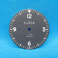 Cessna 8 Day Mechanical Clock Face Dial (16052)