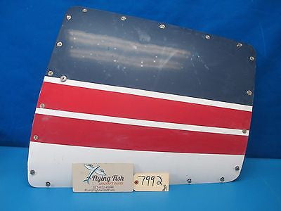 Beechcraft Queen Air 65 Left Avionics Access Door 1966 (7992)