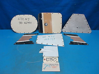 Aircraft Inspection Panels Access Plate Lot Cessna Piper Beechcraft (10750)